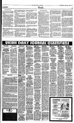 Ukiah Daily Journal from ,  on June 26, 1997 · Page 11