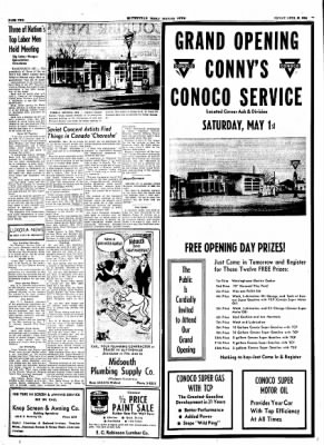 The Courier News from Blytheville, Arkansas on April 30, 1954 · Page 2
