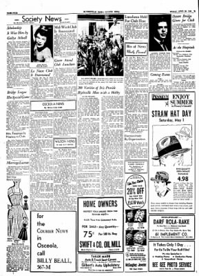 The Courier News from Blytheville, Arkansas on April 30, 1954 · Page 4