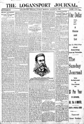 Logansport Pharos-Tribune from Logansport, Indiana on August 16, 1896 · Page 9