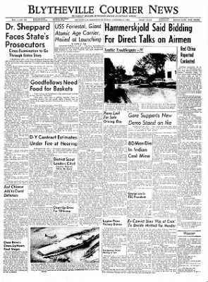 The Courier News from Blytheville, Arkansas on December 11, 1954 · Page 1
