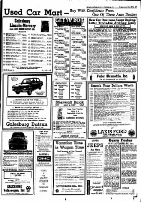 Galesburg Register-Mail from Galesburg, Illinois on July 27, 1973 · Page 41
