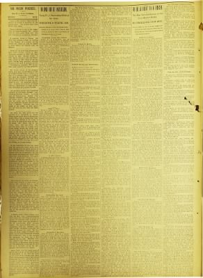 The Pigeon Progress from Pigeon, Michigan on August 9, 1901 · 2