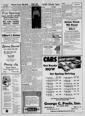 Heights Herald From Arlington Illinois On March 28 1952
