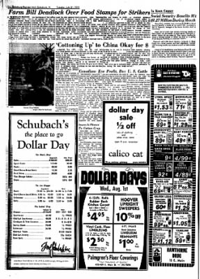 Galesburg Register-Mail from Galesburg, Illinois on July 31, 1973 · Page 14
