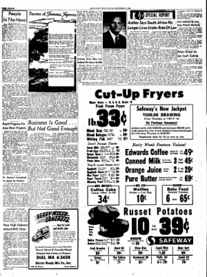 The Hays Daily News from Hays, Kansas on September 16, 1962 · Page 12