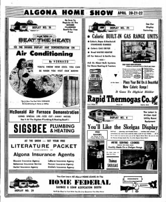 The Algona Upper Des Moines from Algona, Iowa on April 17, 1956 · Page 43