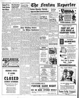 The Algona Upper Des Moines from Algona, Iowa on April 24, 1956 · Page 10