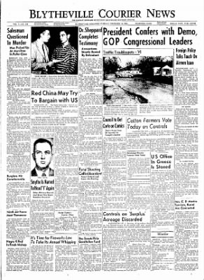 The Courier News from Blytheville, Arkansas on December 14, 1954 · Page 1