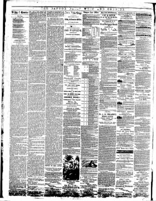 bangor daily whig and courier from bangor maine on june 28 1867