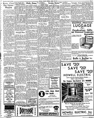 Nevada State Journal from Reno, Nevada on April 24, 1938 · Page 11