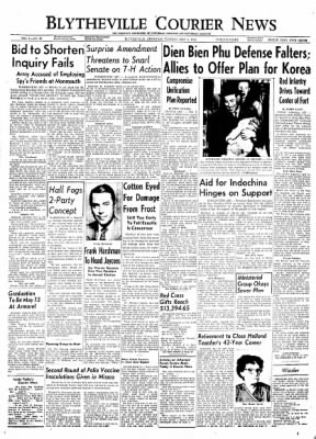 The Courier News from Blytheville, Arkansas on May 4, 1954 · Page 1