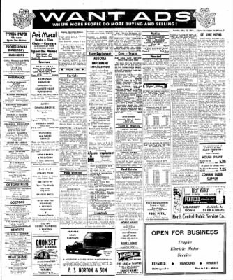 The Algona Upper Des Moines from Algona, Iowa on May 22, 1956 · Page 7