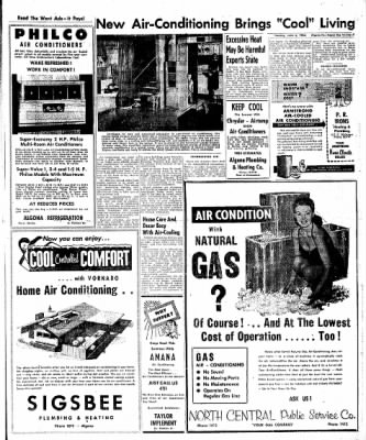 The Algona Upper Des Moines from Algona, Iowa on June 5, 1956 · Page 15