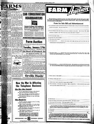 Kossuth County Advance from Algona, Iowa on January 22, 1942 · Page 9
