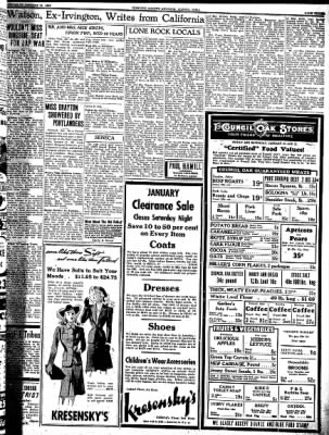 Kossuth County Advance from Algona, Iowa on January 29, 1942 · Page 3