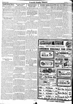 Kossuth County Advance from Algona, Iowa on February 5, 1942 · Page 6