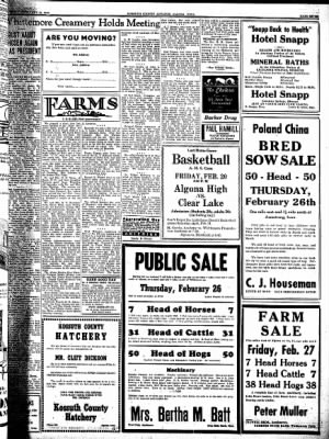 Kossuth County Advance from Algona, Iowa on February 19, 1942 · Page 7