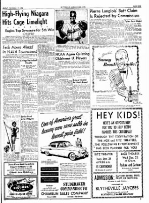 The Courier News from Blytheville, Arkansas on December 17, 1954 · Page 9