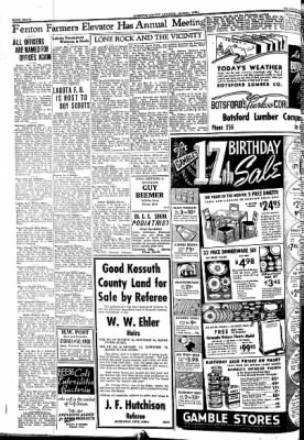 Kossuth County Advance from Algona, Iowa on March 19, 1942 · Page 8