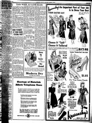 Kossuth County Advance from Algona, Iowa on March 26, 1942 · Page 5