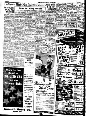 Kossuth County Advance from Algona, Iowa on April 23, 1942 · Page 1