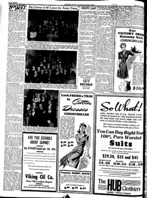 Kossuth County Advance from Algona, Iowa on May 7, 1942 · Page 4