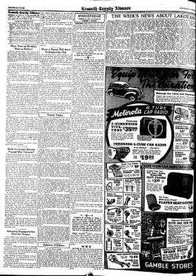 Kossuth County Advance from Algona, Iowa on June 25, 1942 · Page 3
