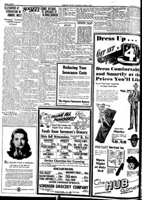 Kossuth County Advance from Algona, Iowa on July 2, 1942 · Page 4