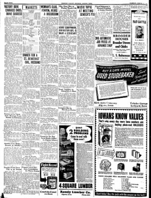 Kossuth County Advance from Algona, Iowa on March 16, 1943 · Page 4