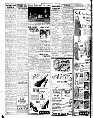 Kossuth County Advance from Algona, Iowa on October 26, 1943 · Page 4
