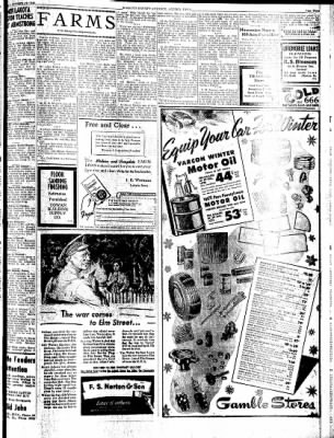 Kossuth County Advance from Algona, Iowa on October 26, 1943 · Page 9
