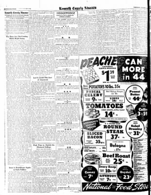 Kossuth County Advance from Algona, Iowa on August 17, 1944 · Page 4