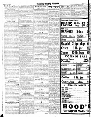 Kossuth County Advance from Algona, Iowa on August 31, 1944 · Page 4
