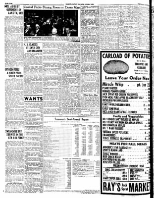 Kossuth County Advance from Algona, Iowa on October 26, 1944 · Page 2