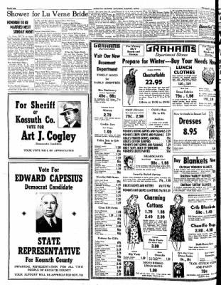 Kossuth County Advance from Algona, Iowa on November 2, 1944 · Page 6