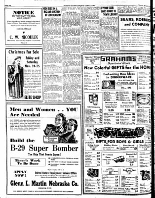 Kossuth County Advance from Algona, Iowa on November 23, 1944 · Page 10
