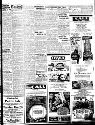 Kossuth County Advance from Algona, Iowa on November 30, 1944 · Page 5