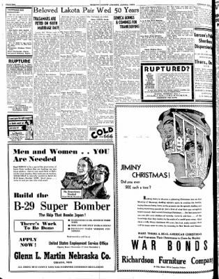 Kossuth County Advance from Algona, Iowa on November 30, 1944 · Page 8