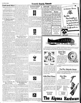 Kossuth County Advance from Algona, Iowa on December 14, 1944 · Page 8