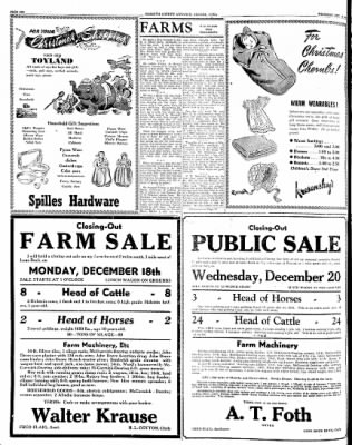 Kossuth County Advance from Algona, Iowa on December 14, 1944 · Page 12