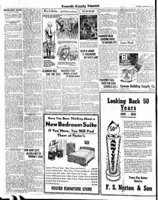 Kossuth County Advance from Algona, Iowa on January 16, 1945 · Page 2