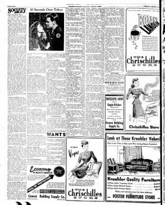 Kossuth County Advance from Algona, Iowa on January 30, 1945 · Page 4