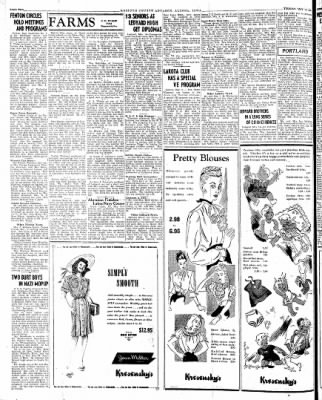 Kossuth County Advance from Algona, Iowa on May 15, 1945 · Page 1