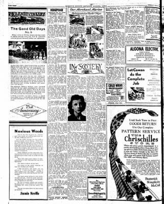 Kossuth County Advance from Algona, Iowa on July 17, 1945 · Page 4