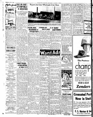 Kossuth County Advance from Algona, Iowa on August 28, 1945 · Page 2