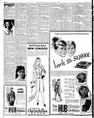 Kossuth County Advance from Algona, Iowa on August 28, 1945 · Page 3