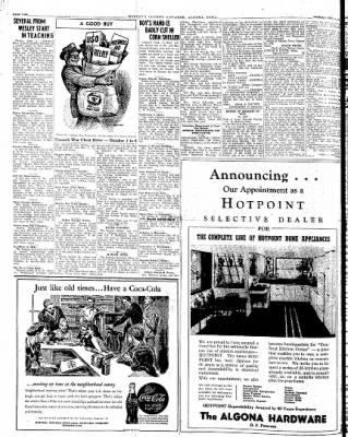 Kossuth County Advance from Algona, Iowa on September 4, 1945 · Page 1