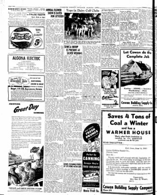 Kossuth County Advance from Algona, Iowa on September 11, 1945 · Page 3