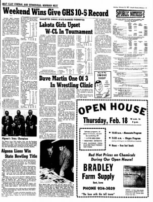 Kossuth County Advance from Algona, Iowa on February 15, 1971 · Page 4